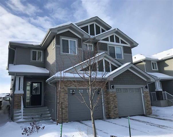 Main Photo: 1306 162 Street in Edmonton: Zone 56 House Half Duplex for sale : MLS®# E4232758