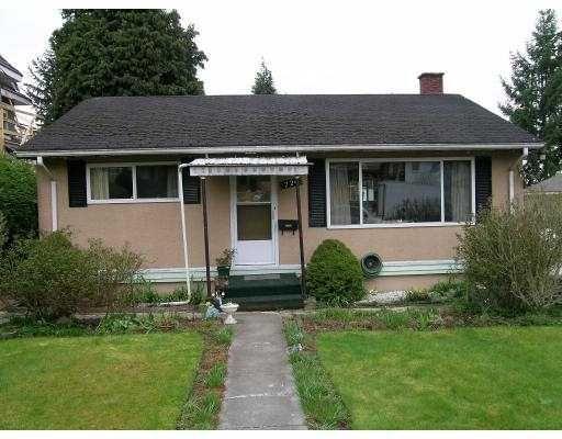 Main Photo: 726 DELESTRE AV in Coquitlam: Coquitlam West House for sale : MLS®# V584008