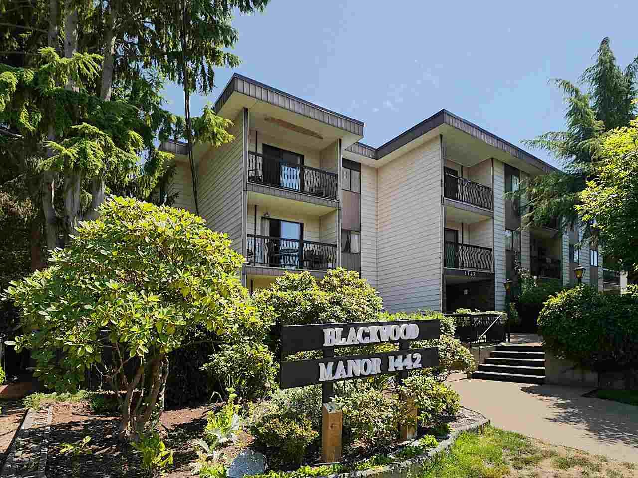 """Main Photo: 201 1442 BLACKWOOD Street: White Rock Condo for sale in """"Blackwood Manor"""" (South Surrey White Rock)  : MLS®# R2292905"""