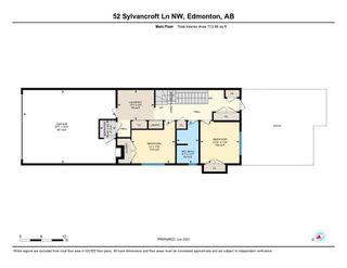 Photo 48: 52 SYLVANCROFT Lane in Edmonton: Zone 07 House Half Duplex for sale : MLS®# E4251662
