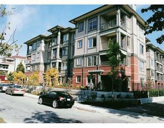"""Photo 1: 110 2468 ATKINS Avenue in Port_Coquitlam: Central Pt Coquitlam Condo for sale in """"THE BORDEAUX"""" (Port Coquitlam)  : MLS®# V708771"""