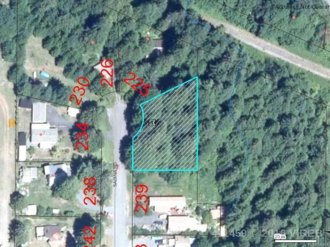 Main Photo: LT 11 Sabina Rd in BOWSER: PQ Bowser/Deep Bay Land for sale (Parksville/Qualicum)  : MLS®# 748464