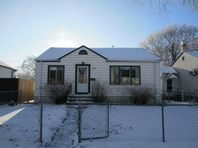 Main Photo: 634 Rosedale Avenue in WINNIPEG: Manitoba Other Residential for sale : MLS®# 1201741