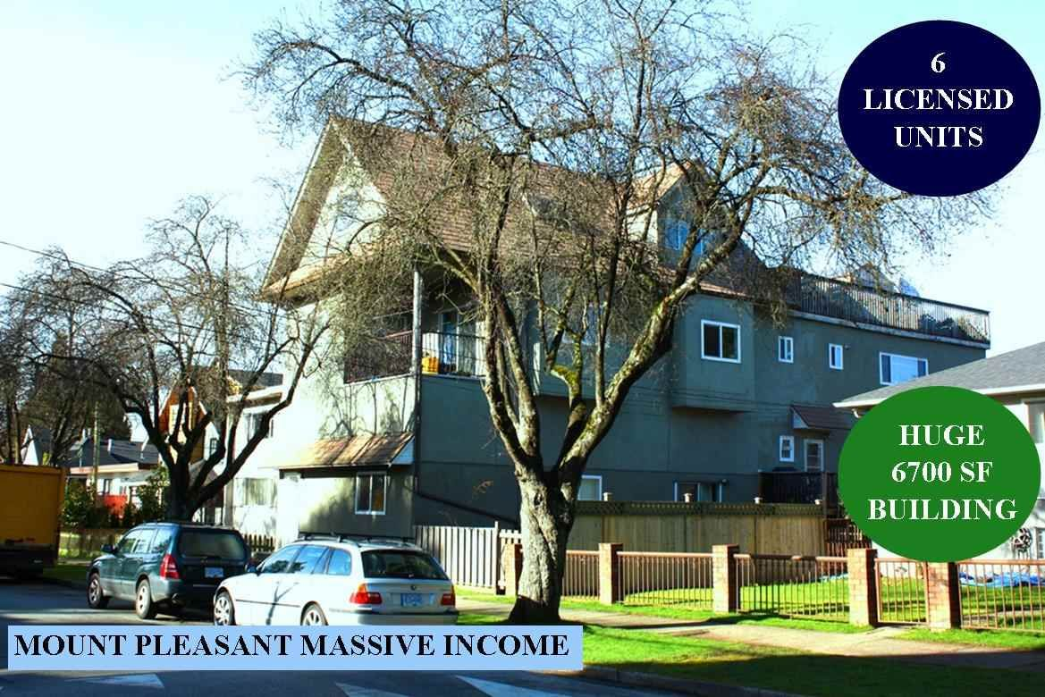 Main Photo: 1177 E 14TH Avenue in Vancouver: Mount Pleasant VE House for sale (Vancouver East)  : MLS®# R2537063