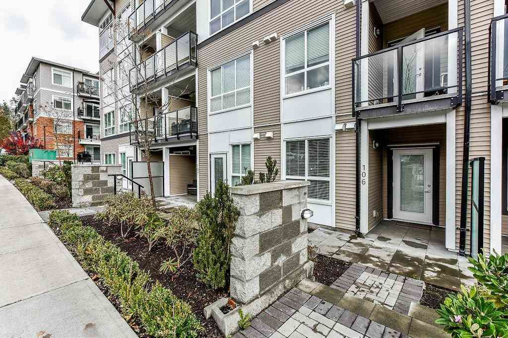 "Main Photo: 106 6468 195A Street in Surrey: Clayton Condo for sale in ""YALE BLOC1"" (Cloverdale)  : MLS®# R2528396"