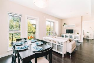 """Photo 2: 410 9350 UNIVERSITY HIGH Street in Burnaby: Simon Fraser Univer. Townhouse for sale in """"Lift"""" (Burnaby North)  : MLS®# R2468337"""