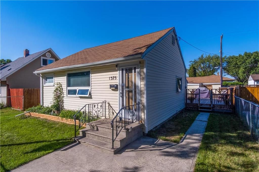 Main Photo: 1375 Magnus Avenue in Winnipeg: Shaughnessy Heights Residential for sale (4B)  : MLS®# 202120371