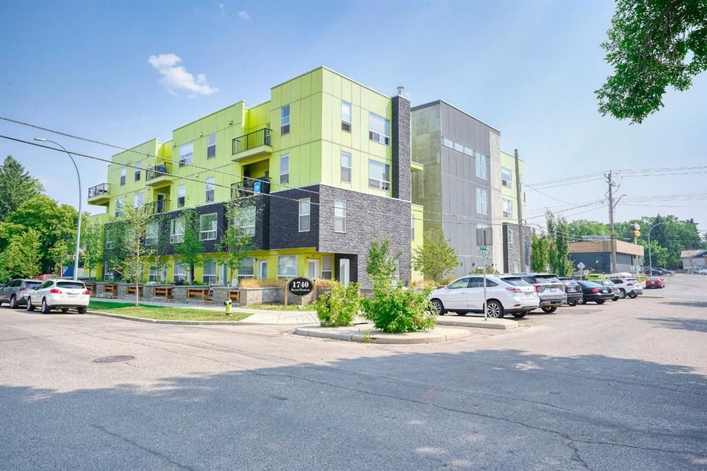 Main Photo: 103 1740 9 Street NW in Calgary: Mount Pleasant Apartment for sale : MLS®# A1135559