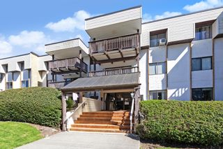 "Photo 1: 101 12170 222 Street in Maple Ridge: West Central Condo for sale in ""WILDWOOD TERRACE"" : MLS®# R2566877"