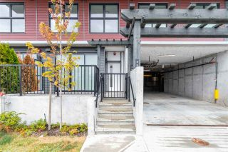 "Photo 1: 102 217 CLARKSON Street in New Westminster: Downtown NW Townhouse for sale in ""Irving Living"" : MLS®# R2545622"