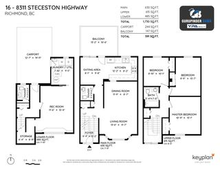 Photo 39: 16 8311 STEVESTON Highway in Richmond: South Arm Townhouse for sale : MLS®# R2585092