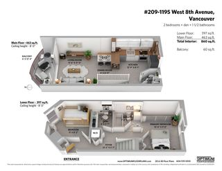 """Photo 33: 209 1195 W 8TH Avenue in Vancouver: Fairview VW Townhouse for sale in """"ALDER COURT"""" (Vancouver West)  : MLS®# R2560654"""