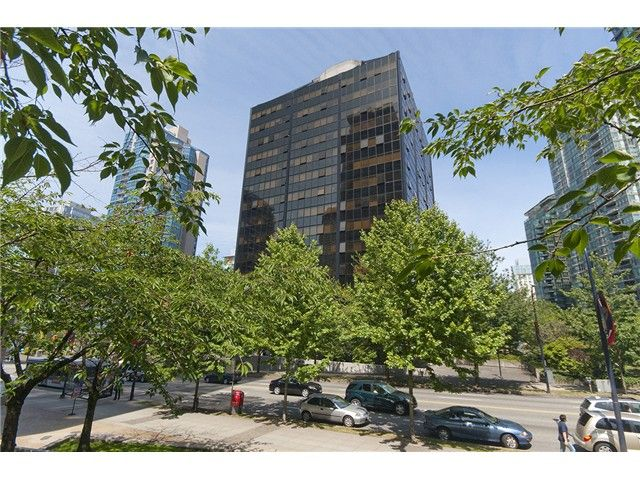Main Photo: # 1514 1333 W GEORGIA ST in Vancouver: Coal Harbour Condo for sale (Vancouver West)  : MLS®# V1073494