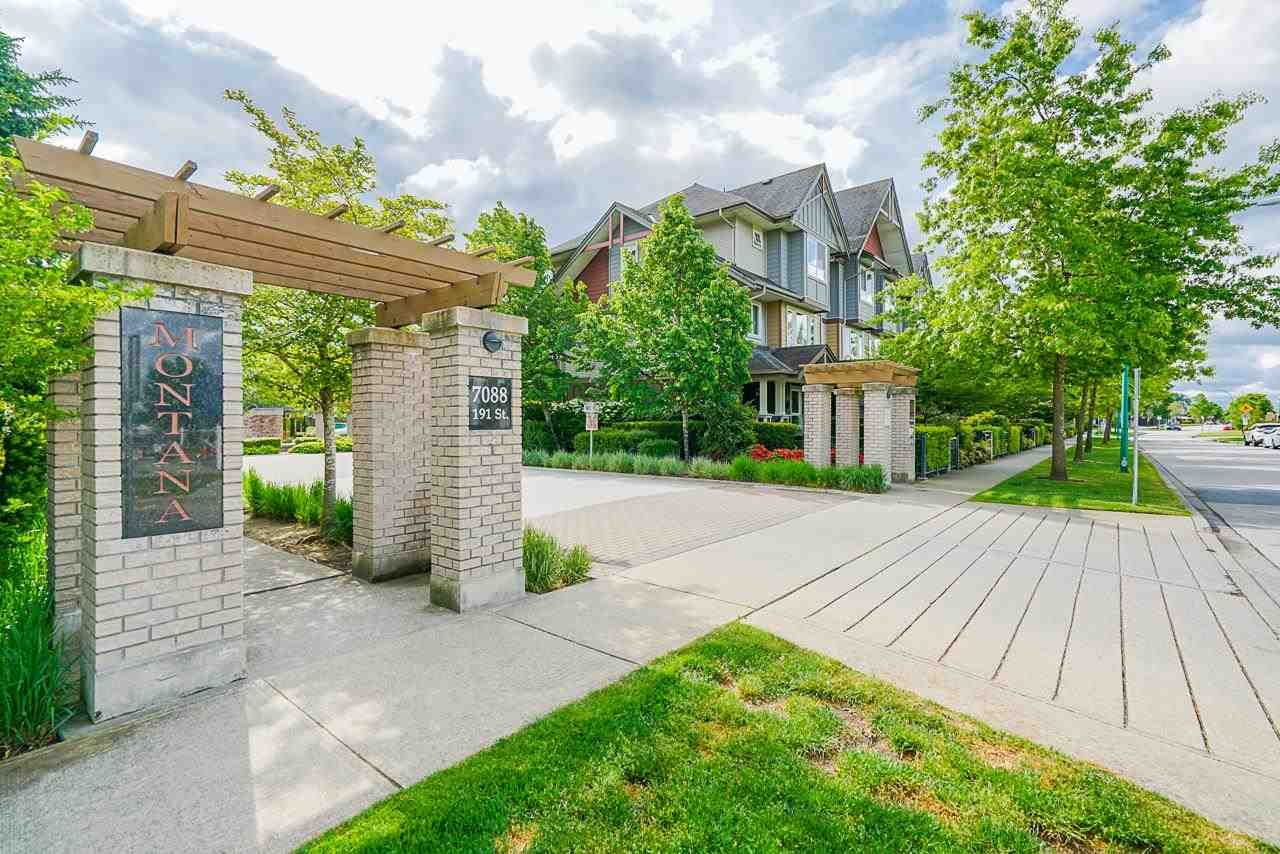 """Main Photo: 44 7088 191 Street in Langley: Clayton Townhouse for sale in """"MONTANA"""" (Cloverdale)  : MLS®# R2585334"""