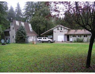 Photo 1: 11739 272ND Street in Maple_Ridge: Whonnock House for sale (Maple Ridge)  : MLS®# V648786