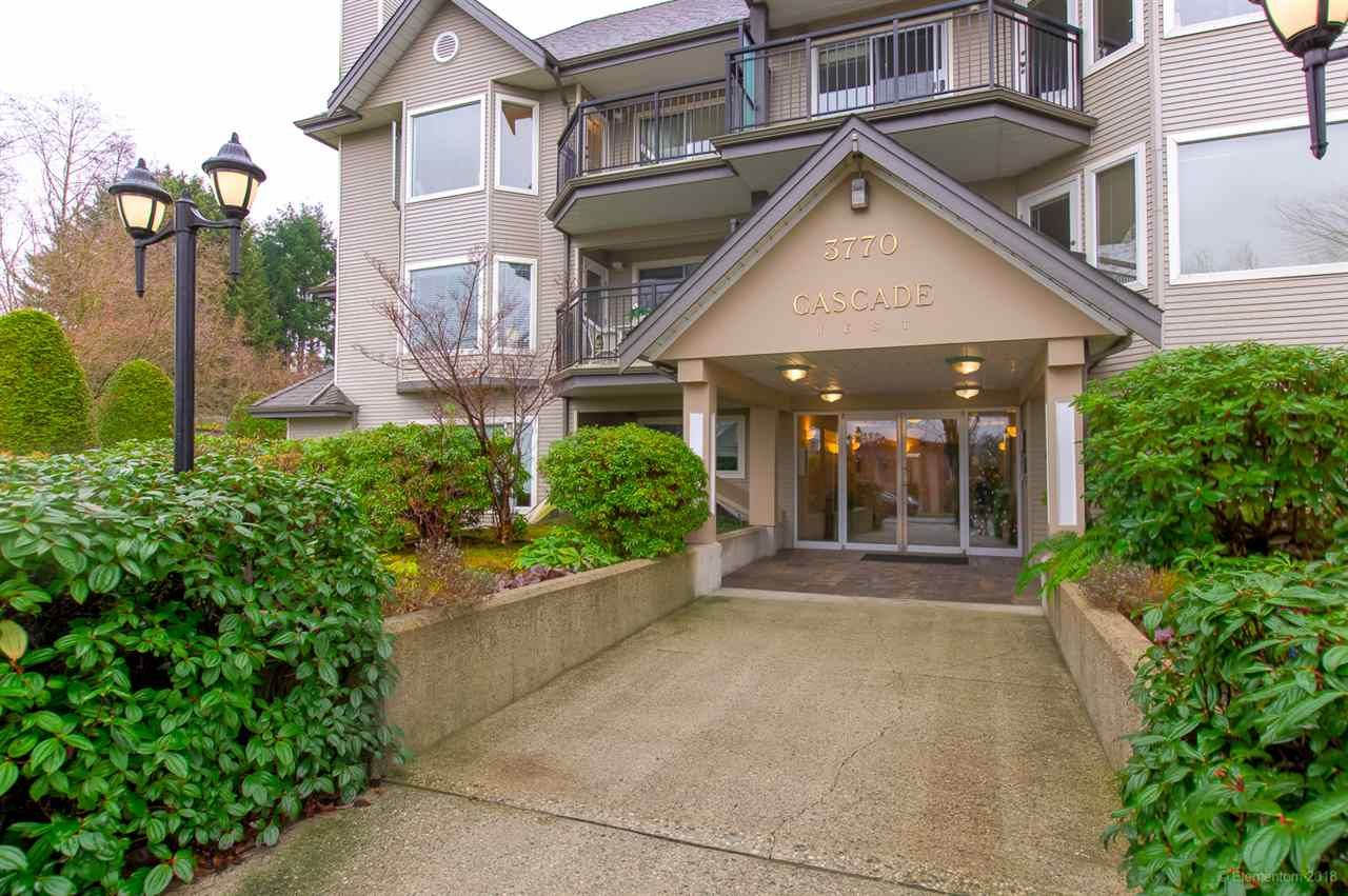 """Main Photo: 217 3770 MANOR Street in Burnaby: Central BN Condo for sale in """"CASCADE WEST"""" (Burnaby North)  : MLS®# R2425470"""
