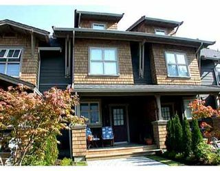 """Photo 1: 236 600 PARK Crescent in New_Westminster: GlenBrooke North Townhouse for sale in """"The Roycroft"""" (New Westminster)  : MLS®# V703235"""