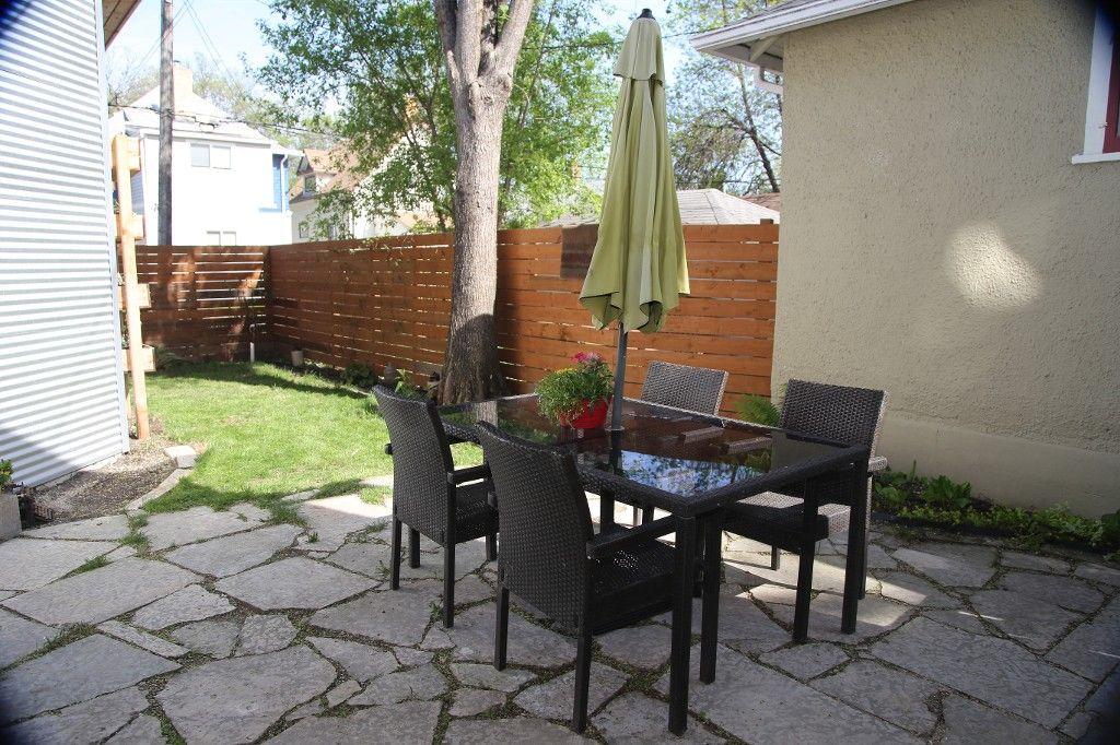 Photo 48: Photos: 233 Sherburn Street in Winnipeg: Wolseley Single Family Detached for sale (West Winnipeg)  : MLS®# 1412734