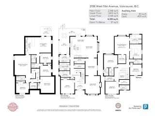 Photo 40: 2136 W 51ST Avenue in Vancouver: S.W. Marine House for sale (Vancouver West)  : MLS®# R2467967