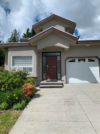Photo 1: 7633 PLUM Avenue in Burnaby: South Slope 1/2 Duplex for sale (Burnaby South)  : MLS®# R2583277