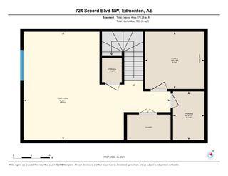 Photo 32: 724 SECORD Boulevard in Edmonton: Zone 58 House for sale : MLS®# E4236765
