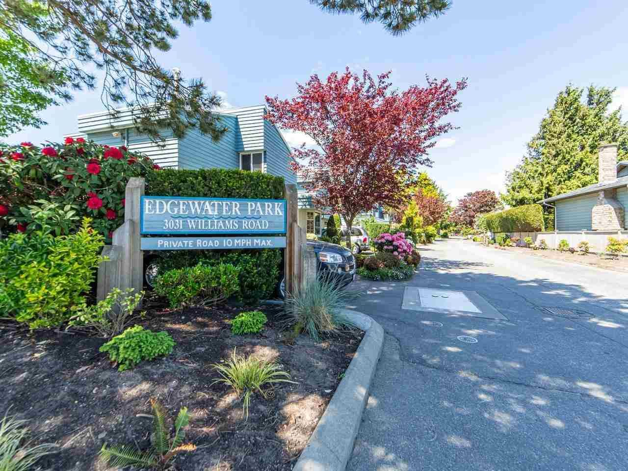 Main Photo: 55 3031 WILLIAMS ROAD in Richmond: Seafair Townhouse for sale : MLS®# R2584254