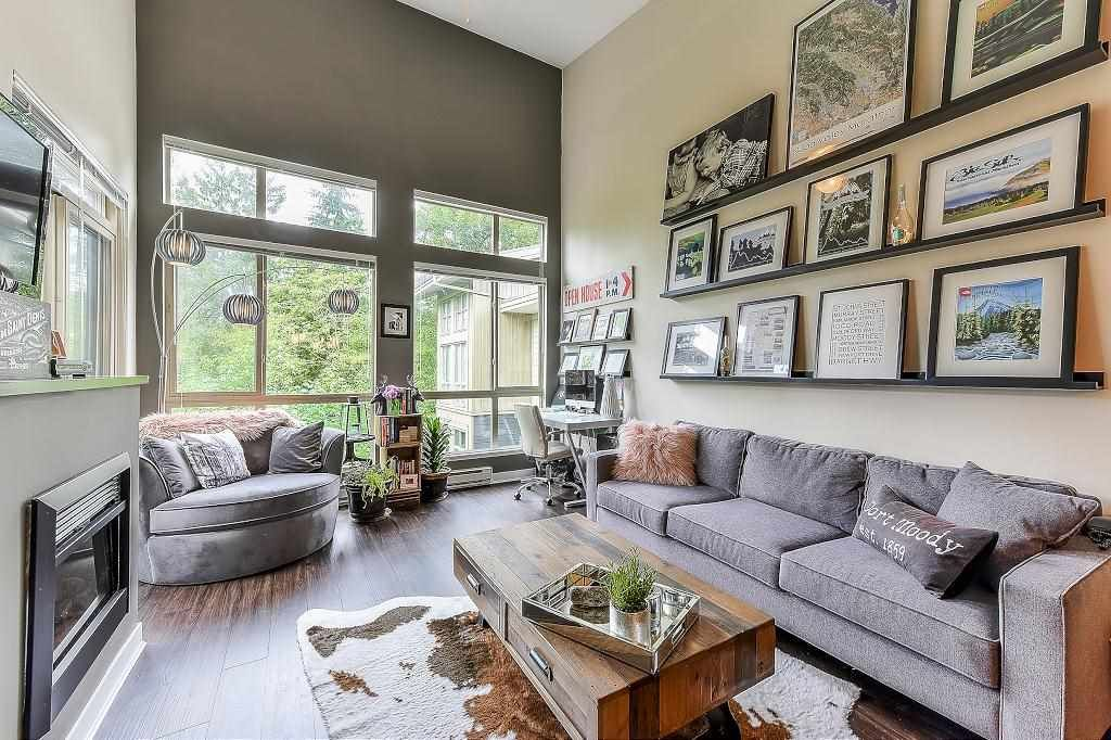 """Main Photo: 403 201 MORRISSEY Road in Port Moody: Port Moody Centre Condo for sale in """"SUTER BROOK"""" : MLS®# R2305965"""