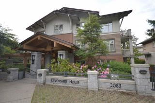 "Photo 1: 211 2083 W 33RD Avenue in Vancouver: Quilchena Condo for sale in ""DEVONSHIRE HOUSE"" (Vancouver West)  : MLS®# R2115581"
