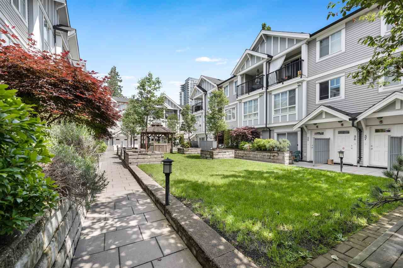"""Main Photo: 50 13239 OLD YALE Road in Surrey: Whalley Townhouse for sale in """"FUSE"""" (North Surrey)  : MLS®# R2455881"""