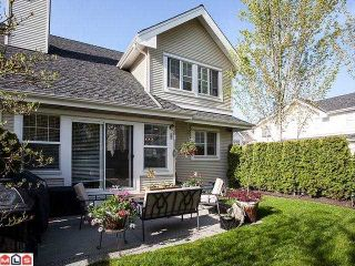 """Photo 1: 62 17097 64TH Avenue in Surrey: Cloverdale BC Townhouse for sale in """"KENTUCKY"""" (Cloverdale)  : MLS®# F1212337"""