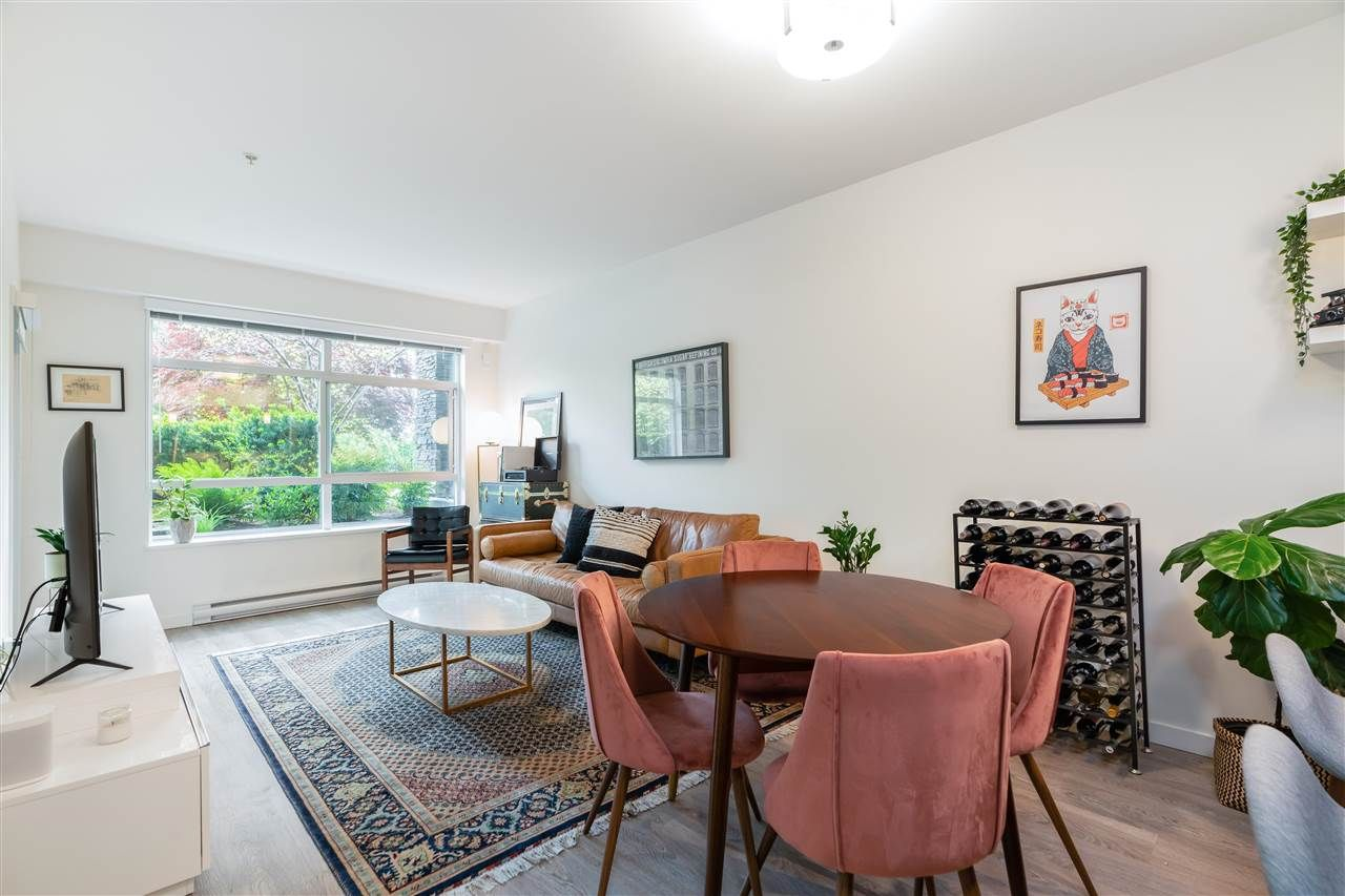 """Main Photo: 109 617 SMITH Avenue in Coquitlam: Coquitlam West Condo for sale in """"The Easton"""" : MLS®# R2580688"""