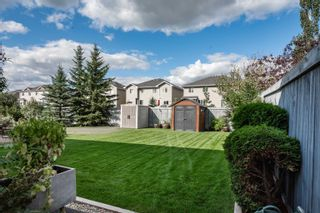 Photo 38: 124 CASTLE Drive in Edmonton: Zone 27 House Half Duplex for sale : MLS®# E4260271