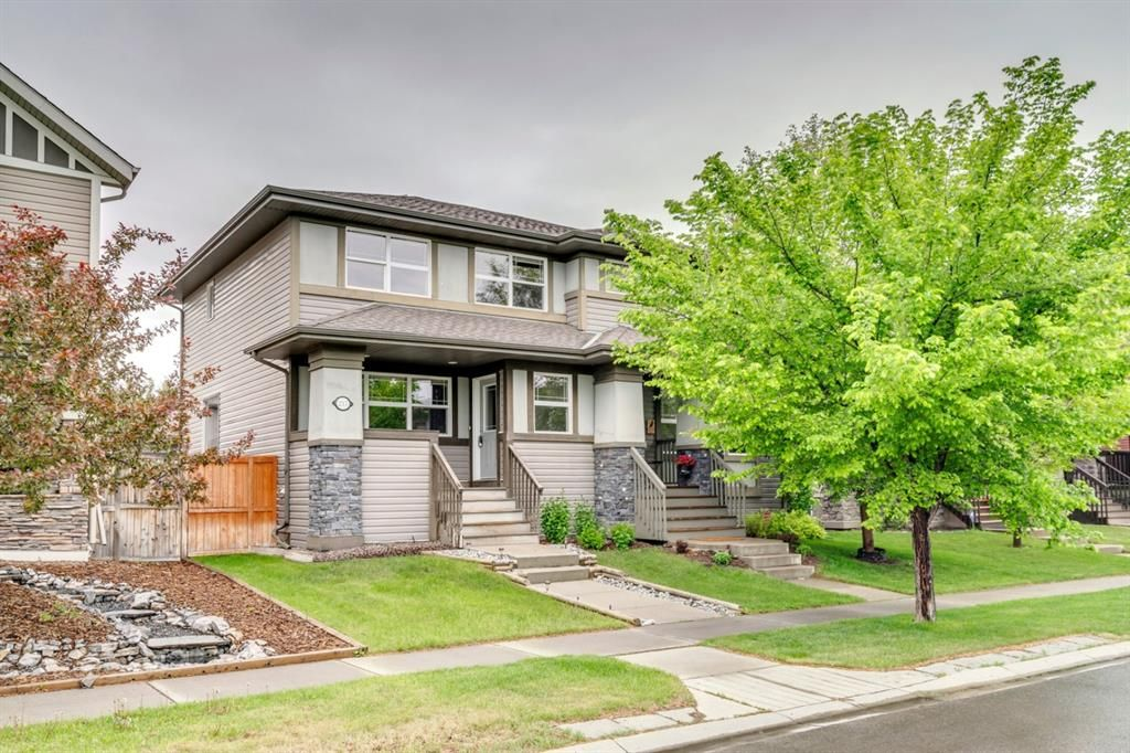 Main Photo: 217 CHAPARRAL VALLEY Drive SE in Calgary: Chaparral Semi Detached for sale : MLS®# A1119212