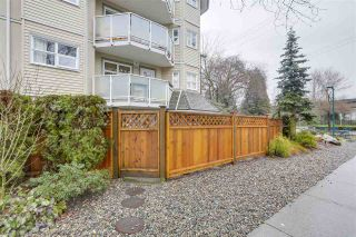 """Photo 2: 101 1515 E 6TH Avenue in Vancouver: Grandview VE Condo for sale in """"WOODLAND TERRACE"""" (Vancouver East)  : MLS®# R2237006"""
