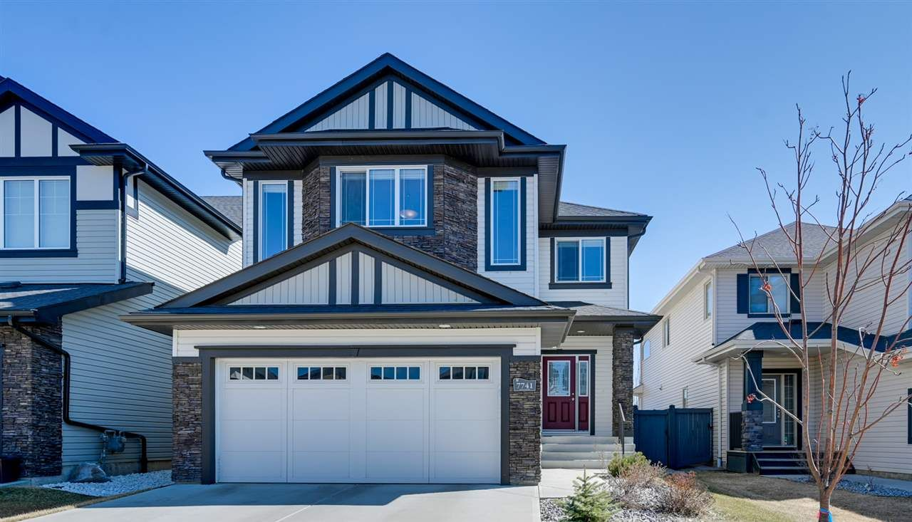 Main Photo: 7741 Getty Wynd in Edmonton: House for sale