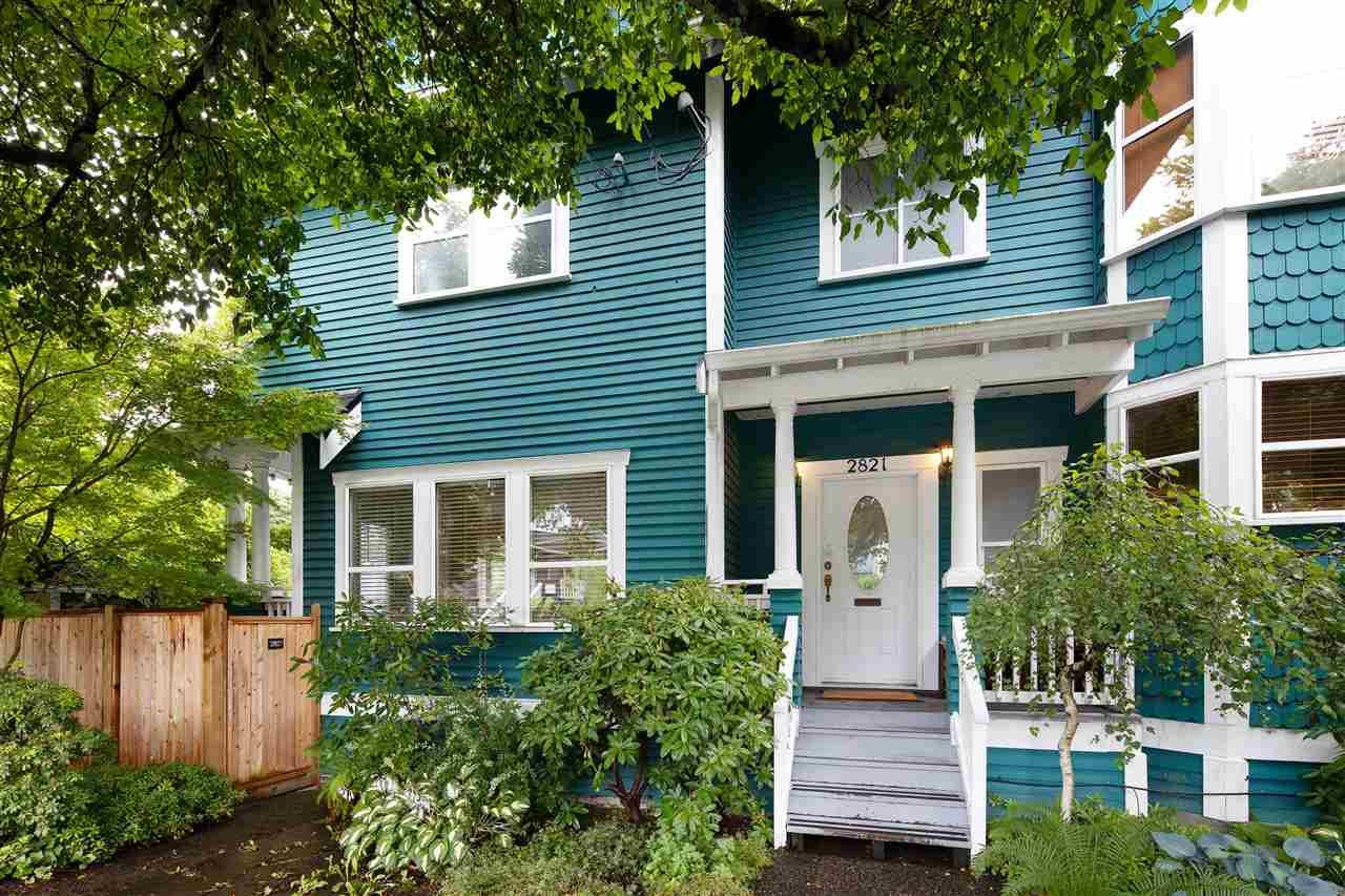 """Main Photo: 2821 MANITOBA Street in Vancouver: Mount Pleasant VW 1/2 Duplex for sale in """"City Hall/ Mount Pleasant"""" (Vancouver West)  : MLS®# R2473781"""