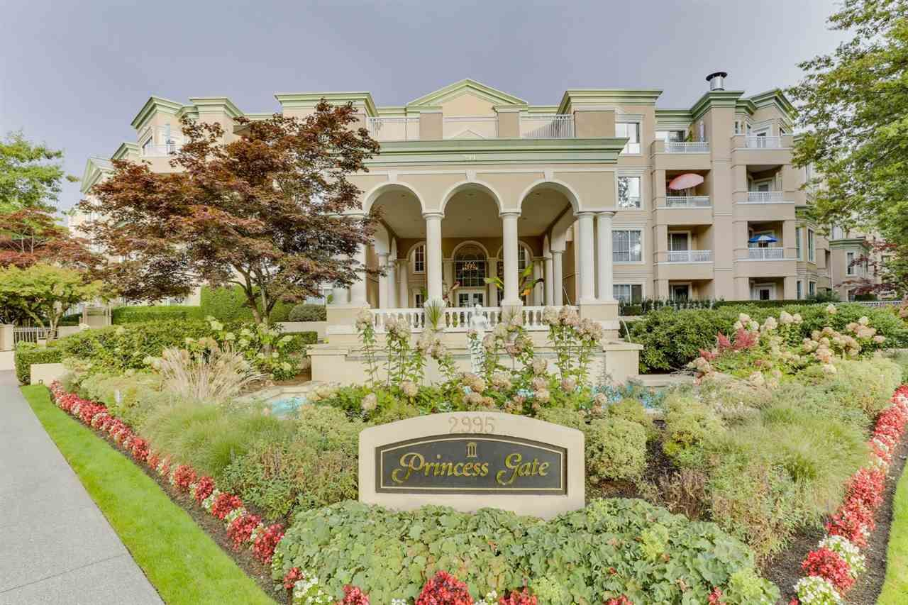 "Main Photo: 118 2995 PRINCESS Crescent in Coquitlam: Canyon Springs Condo for sale in ""Princess Gate"" : MLS®# R2529347"