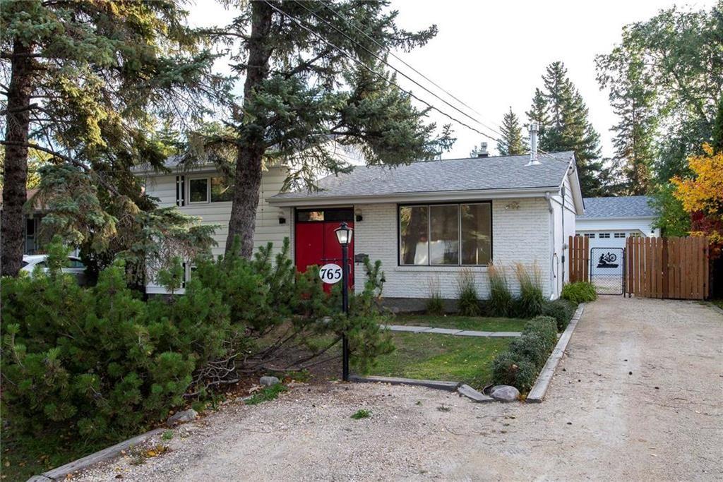 Main Photo: 765 Elmhurst Road in Winnipeg: Charleswood Residential for sale (1G)  : MLS®# 202123403