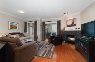 """Photo 1: 13 222 E 5TH Street in North Vancouver: Lower Lonsdale Townhouse for sale in """"BURHAM COURT"""" : MLS®# R2041998"""