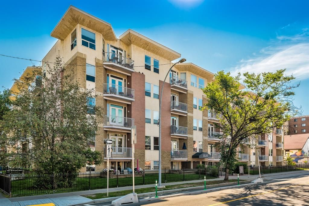 Main Photo: 309 1410 2 Street SW in Calgary: Beltline Apartment for sale : MLS®# A1143810