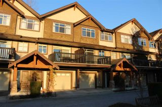 "Photo 1: 25 320 DECAIRE Street in Coquitlam: Central Coquitlam Townhouse for sale in ""OUTLOOK"" : MLS®# R2538646"