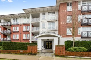 "Photo 1: 113 618 COMO LAKE Avenue in Coquitlam: Coquitlam West Condo for sale in ""EMERSON"" : MLS®# R2533243"