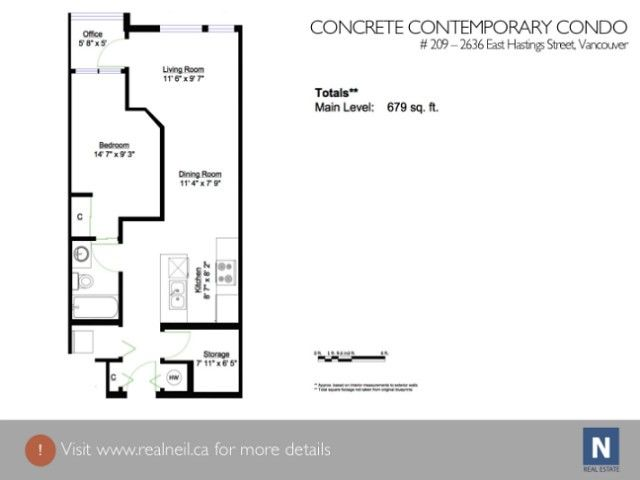 Photo 14: Photos: # 209 2636 E HASTINGS ST in Vancouver: Renfrew VE Condo for sale (Vancouver East)  : MLS®# V1039275