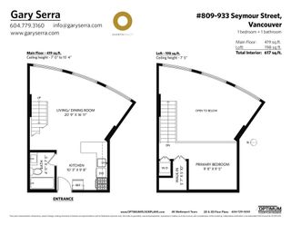 """Photo 27: 809 933 SEYMOUR Street in Vancouver: Downtown VW Condo for sale in """"The Spot"""" (Vancouver West)  : MLS®# R2594727"""