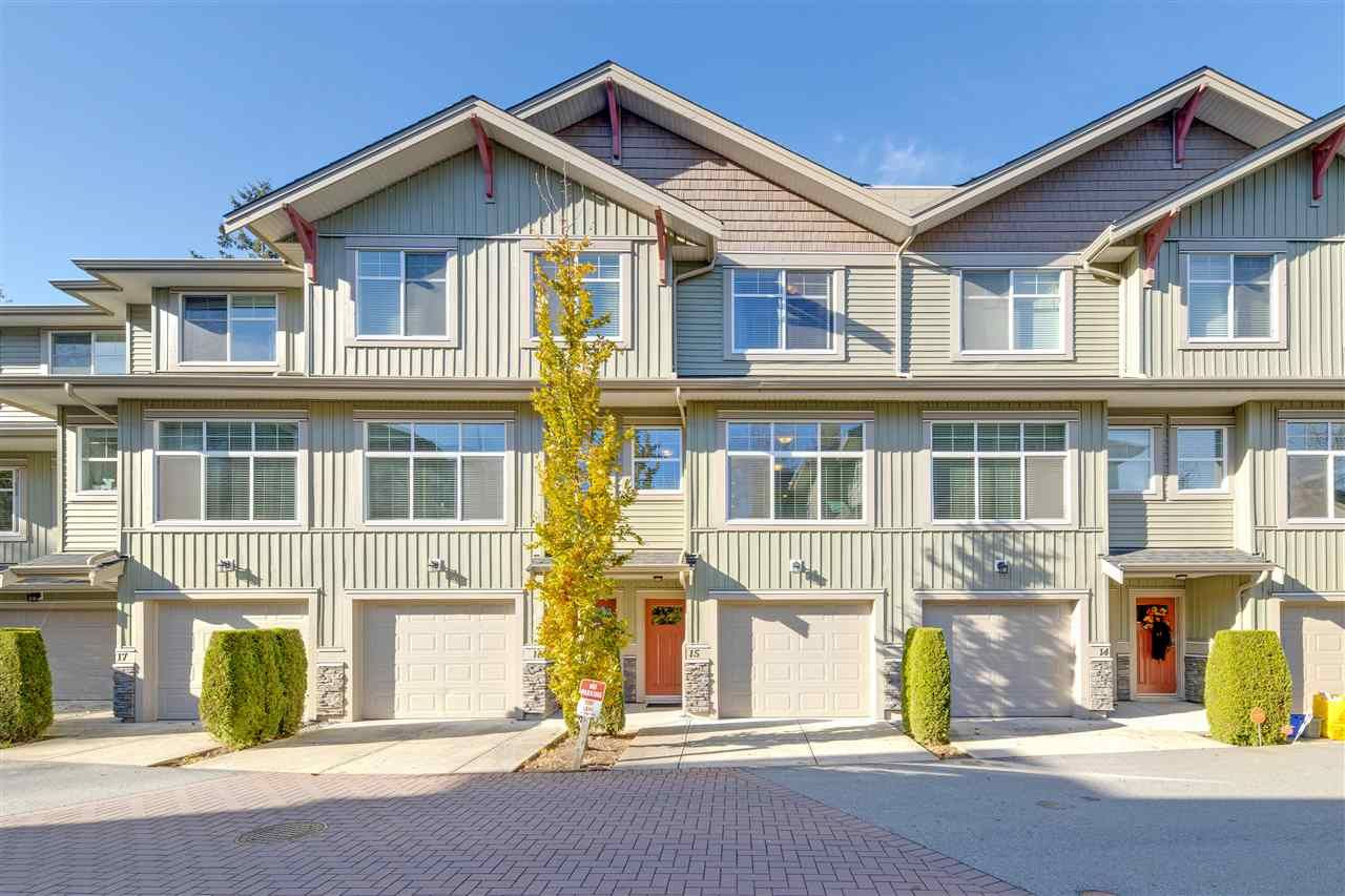 """Main Photo: 15 20967 76 Avenue in Langley: Willoughby Heights Townhouse for sale in """"Nature's Walk"""" : MLS®# R2514471"""