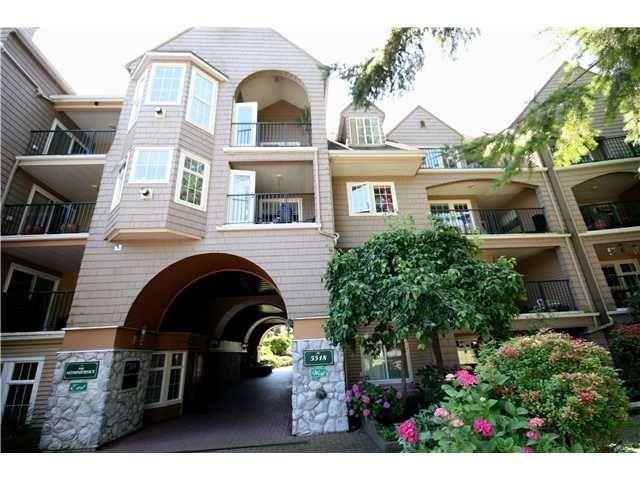 "Main Photo: 202 5518 14TH Avenue in Tsawwassen: Cliff Drive Condo for sale in ""WINDSOR WOODS"" : MLS®# V964579"