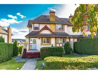 Photo 1: 4 1130 HACHEY Avenue in Coquitlam: Maillardville Townhouse for sale : MLS®# R2623072