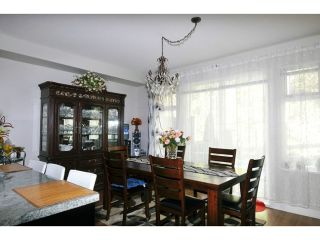 """Photo 2: 144 1460 SOUTHVIEW Street in Coquitlam: Burke Mountain Townhouse for sale in """"CEDAR CREEK"""" : MLS®# V1049640"""