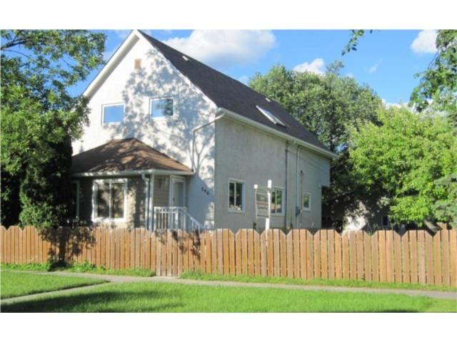 Main Photo: 546 LANGEVIN Street in WINNIPEG: St Boniface Residential for sale (South East Winnipeg)  : MLS®# 1013366