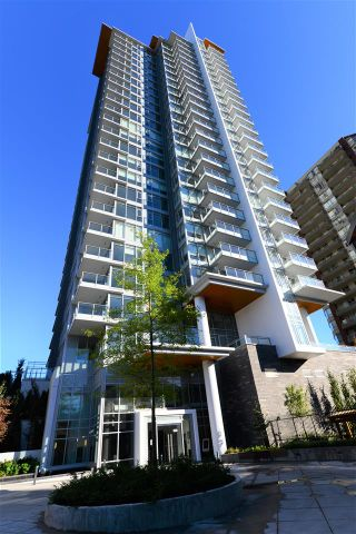 "Photo 1: 1409 520 COMO LAKE Avenue in Coquitlam: Coquitlam West Condo for sale in ""THE CROWN"" : MLS®# R2201094"